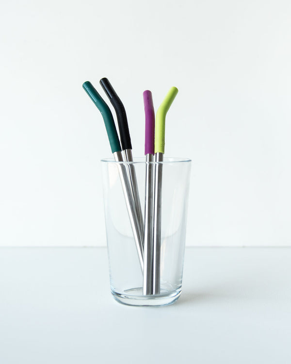 Klean Kanteen Stainless Steel Straw Set — 4 pack