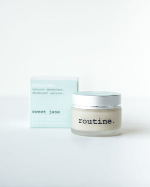 Routine Natural Deodorant—Sweet Jane, 58ml