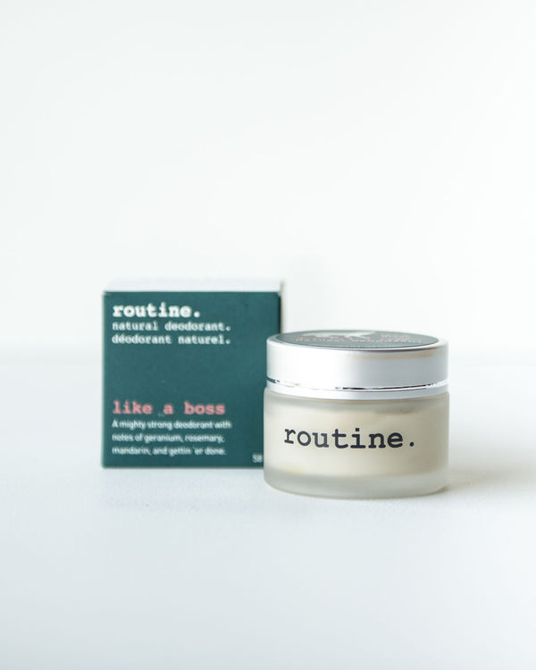 Routine Natural Deodorant—Like A Boss, 58ml