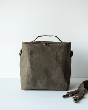 SoYoung Olive Paper Lunch Poche