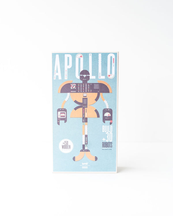 Apollo Wood Tangram Robot Builder