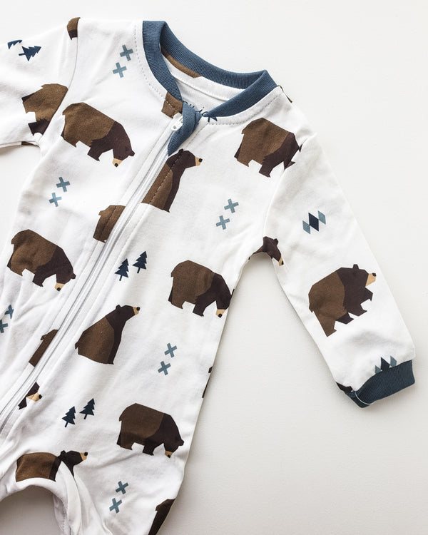 ZippyJamz Organic Pajamas — Little Grizzle