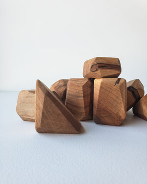 Maple Stacking Stones — Indie Wood Co
