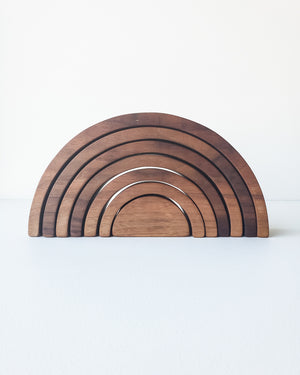 Large Walnut Rainbow — Indie Wood Co