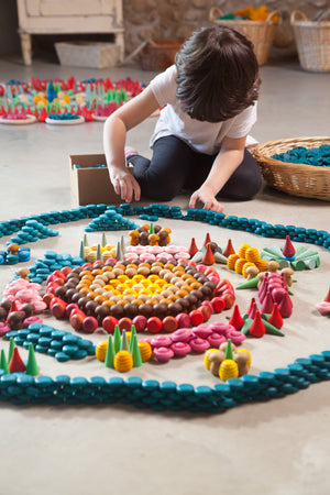 Loose Parts — Mandala Coins