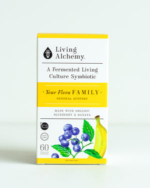 Living Alchemy—Probiotic: Your Flora Family