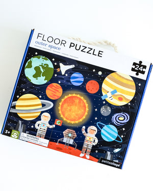 Petit Collage Outerspace Floor Puzzle