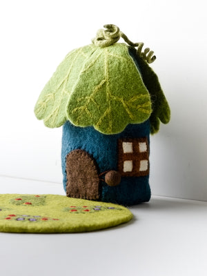Pure Wool Felt Oak Leaf House