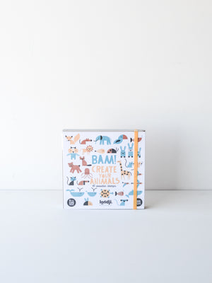 Bam! Create Your Animals — 16 Wooden Stamps
