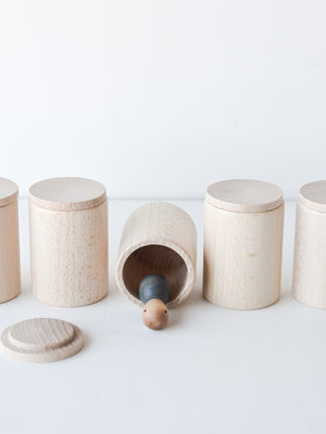 Loose Parts — Cups with Lids
