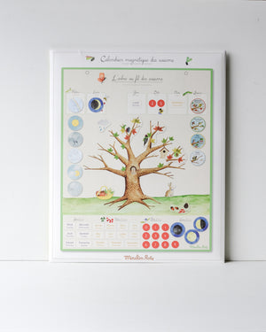 Magnetic Seasonal Perpetual Calendar