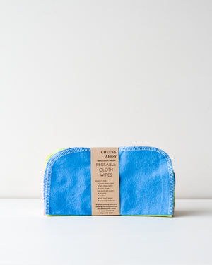 Reusable Cloth Wipes — 30 Pack