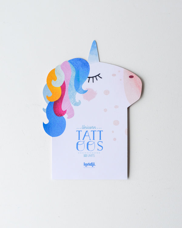 Temporary Unicorn Tattoos