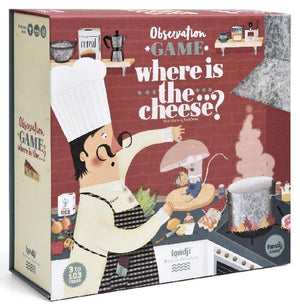 Where Is The Cheese? — Observation Game