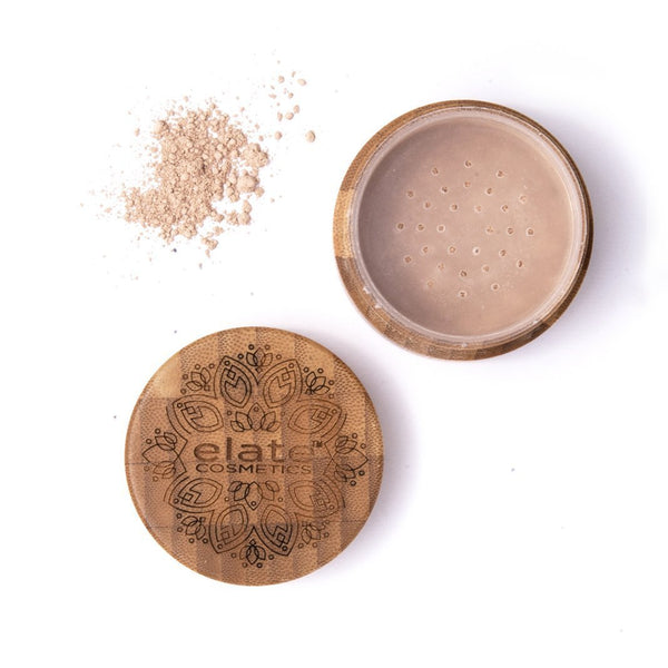 Elate Veiled Elation Loose Mineral Powder — Glowing