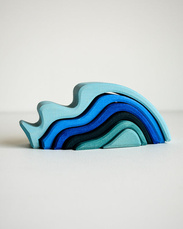 Grimm's Stacking Toy - Waves