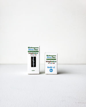 Wintergreen Clean Floss with Activated Charcoal — Living Libations