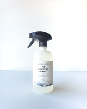 The Unscented Company | Fruit + Veggie Wash