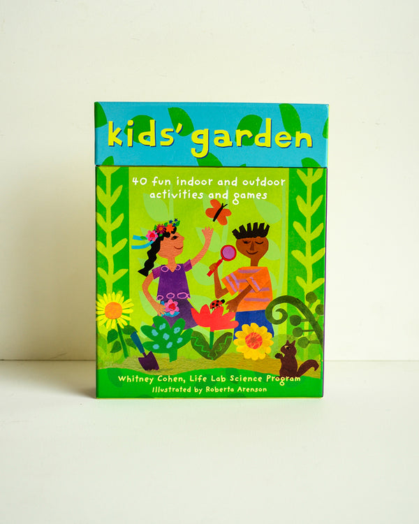 Kids' Garden Activity Card Deck