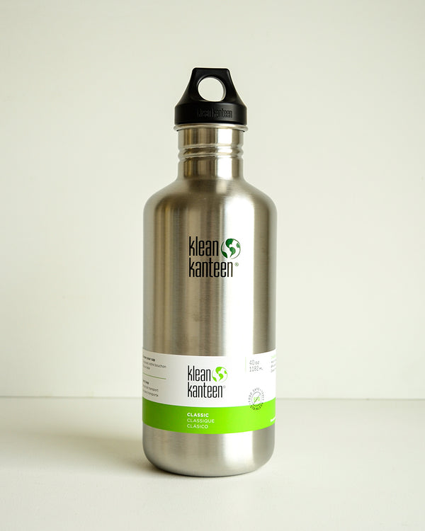 Klean Kanteen Classic 40 oz. - Stainless