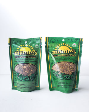 Mumm's Sprouting Seeds — 125g