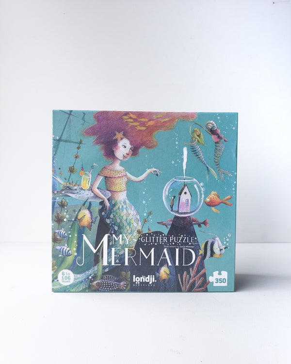 My Mermaid Glitter Puzzle — 350pcs