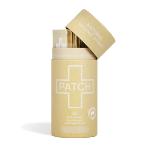 Patch Organic Bamboo Adhesive Strips - Natural