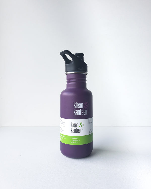 Klean Kanteen Sport 18 oz. — Winter Plum