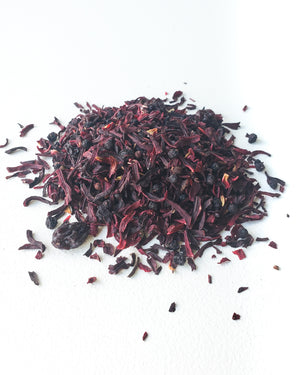Organic Elderberry Hibiscus, Loose Tea — Genuine Tea