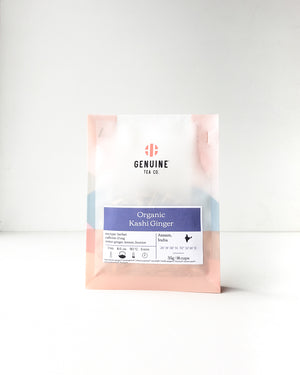 Organic Kashi Ginger, Loose Tea — Genuine Tea