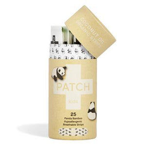 Patch Organic Bamboo Kids Adhesive Strips - Coconut Oil