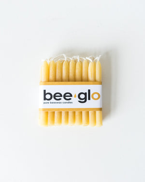 Bee Glo Beeswax Candles - Birthday Candles