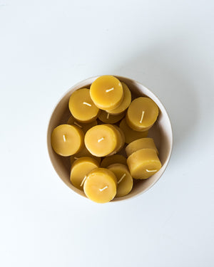 Bee Glo Beeswax Candles - Tealights