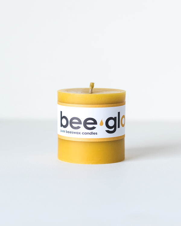 Bee Glo Beeswax Candles - Pillar