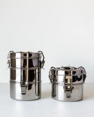 To-Go Ware Tiffin-Style Stainless Steel Food Carrier