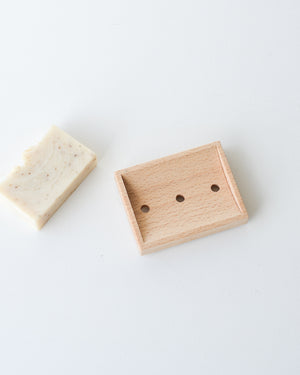 Beech Wood Soap Dish