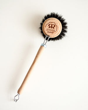 Dish Brush — Black Bristle