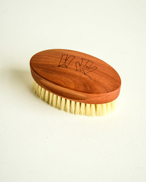 Pearwood Laundry Brush