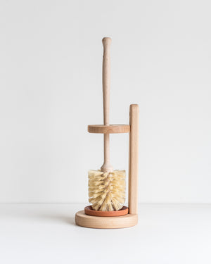 Redecker Toilet Brush with Beechwood Stand