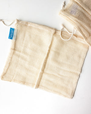Reusable Cotton Produce Bag — Set of 3