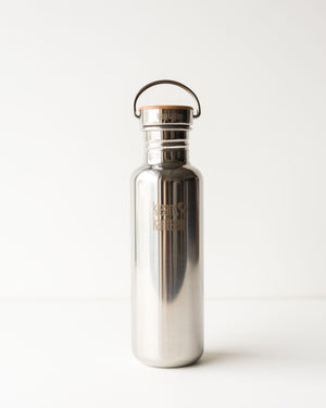 Klean Kanteen Reflect 27oz with Bamboo Mirror Lid