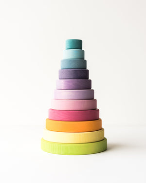 Grimm's Conical Stacking Tower — Pastel
