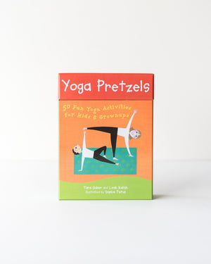 Yoga Pretzels Activity Card Deck