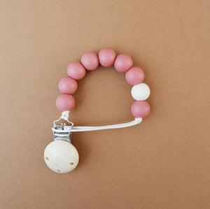 Silicone Bead Soother Clip