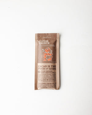 Chocosol — Coffee Crunch + 65% Dark Chocolate Bar