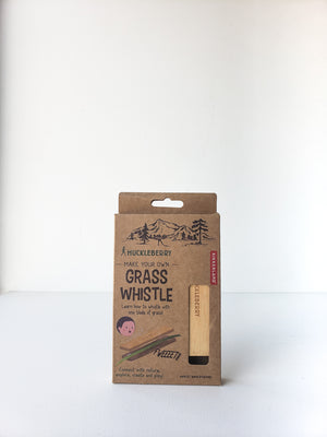 Bamboo Grass Whistle