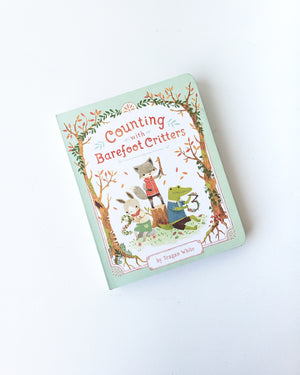 Counting with Barefoot Critters — Board Book