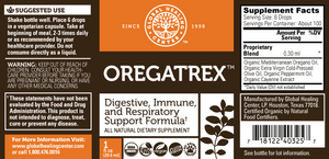 Oregatrex Digestive, Immune, and Respiratory Support Formula