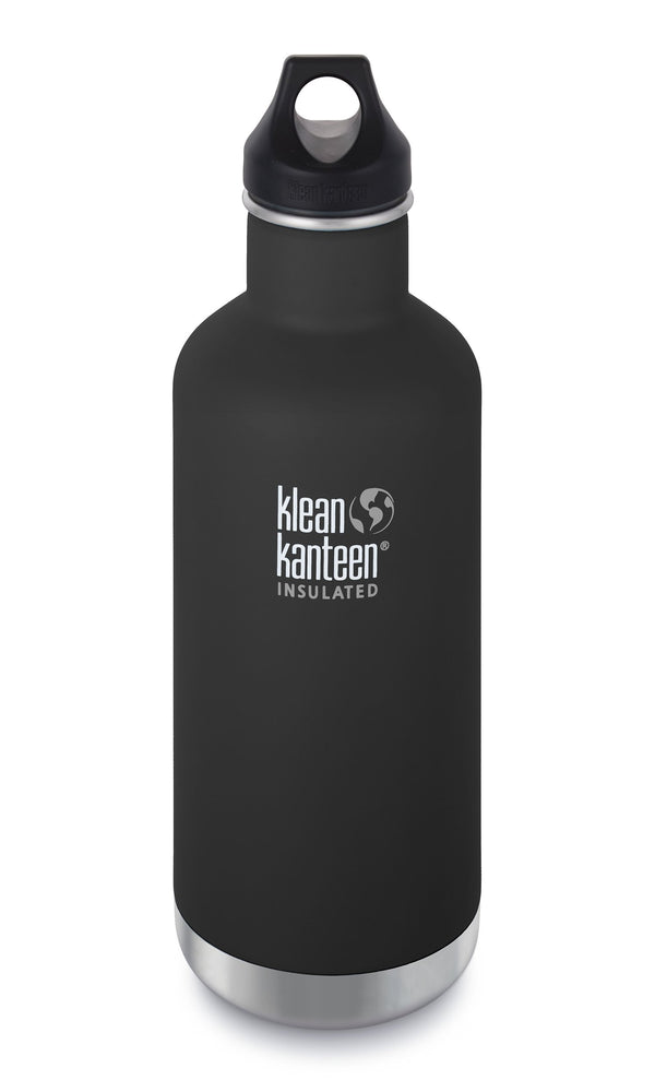 Klean Kanteen Insulated Classic 32oz — Shale Black