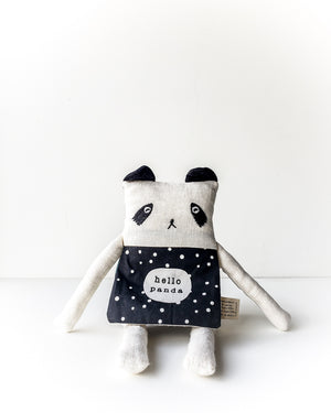 Wee Gallery Organic Flippy Friend — Panda